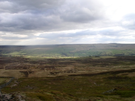 A view of Coverdale from Pen Hill End