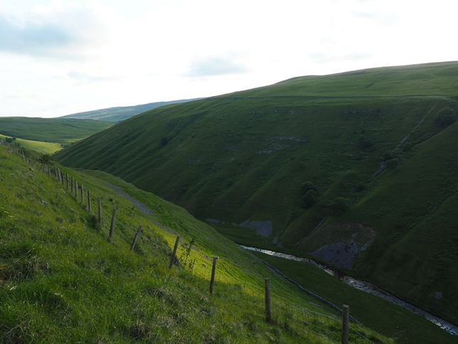 Another view down into Cowside Beck
