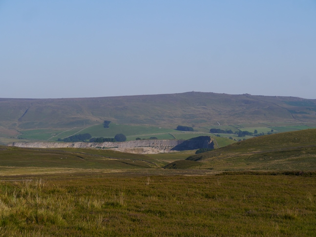 Looking across to Yockenthwaite and Yockenthwaite Moor