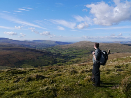 The wonderful view of Dentdale from Galloway Gate