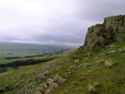 Devil's Crag and Lunesdale