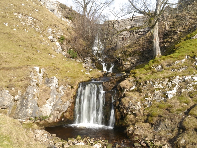 The twin falls of Disher Force
