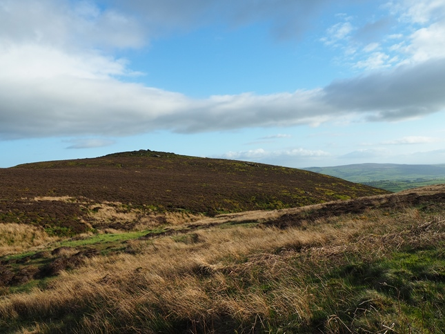 The 'back' of Embsay Crag from Wayshaw Bogs