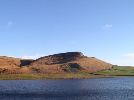 Embsay Crag and Embsay Reservoir