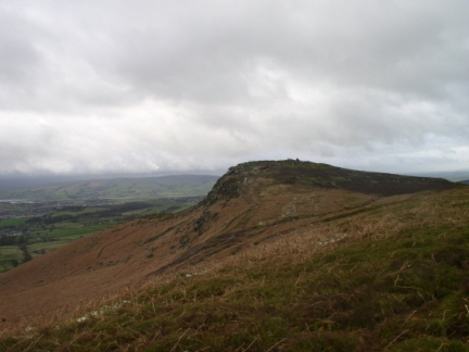 Approaching Embsay Crag
