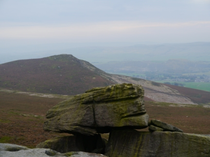 Embsay Crag from Deer Gallows
