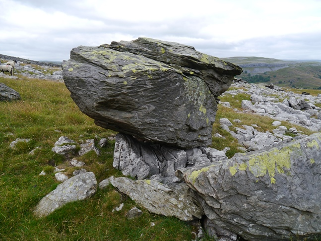 One of the Norber Erratics