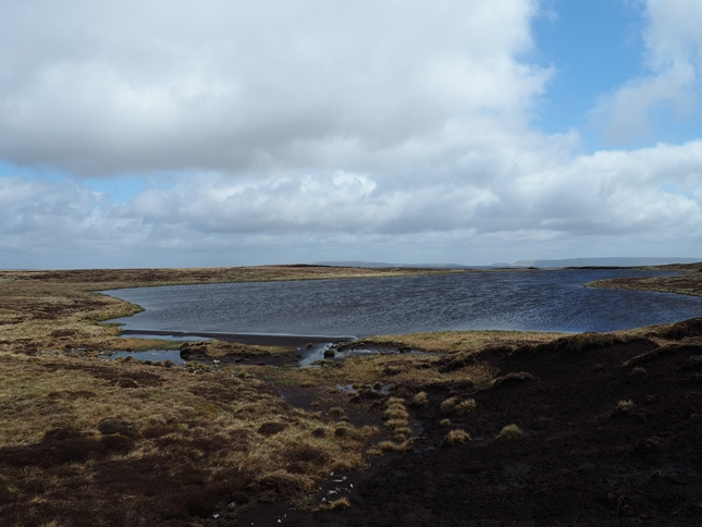 Another view of Fountains Fell Tarn