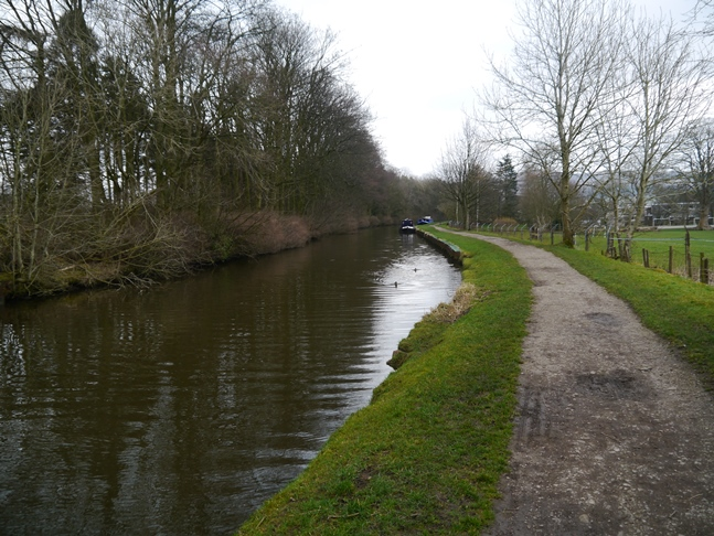 The Leeds-Liverpool Canal outside of Gargrave