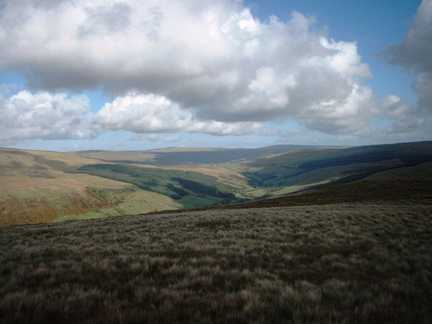 A view of eastern Garsdale