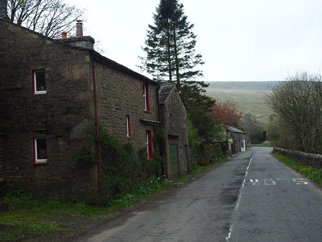 Row of houses in Garsdale