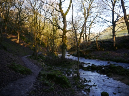 Gordale Beck and Wedber Woods