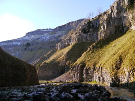 Another view of Gordale Scar