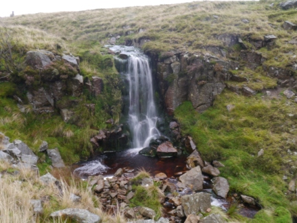 The pretty waterfall in Grain Gill