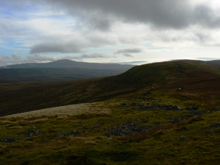 Looking back at Green Hill from Gatty Pike