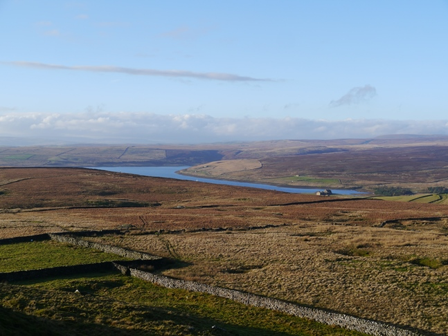 Grimwith Reservoir from Nursery Knot