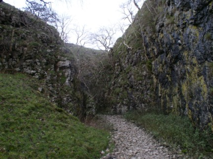 The entrance to Gurling Trough