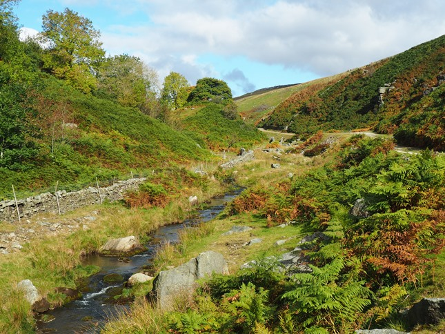 Continuing on along Hebden Beck