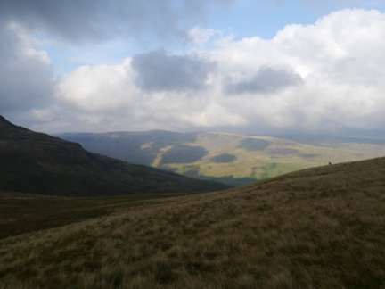 Looking across Mallerstang to High Seat