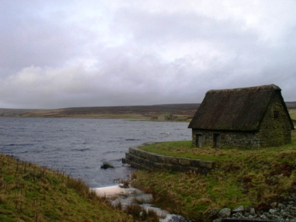 Grimwith Reservoir and High Shaws Lathe