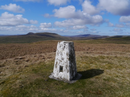 The trig point on Horse Head