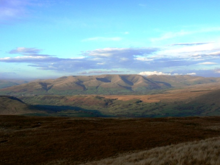 The Howgill Fells from Crag Hill