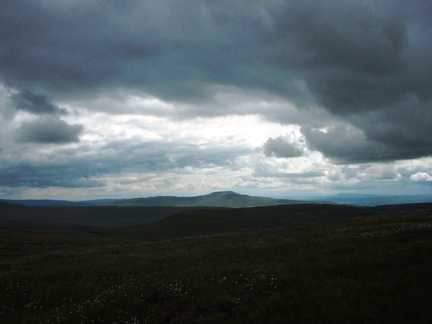 Ingleborough from Crag Hill