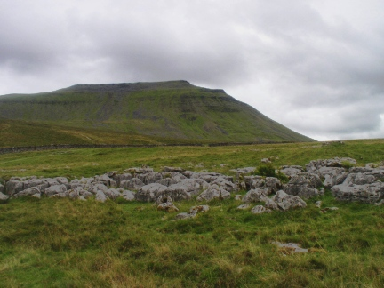 Ingleborough from the approach to Humphrey Bottom