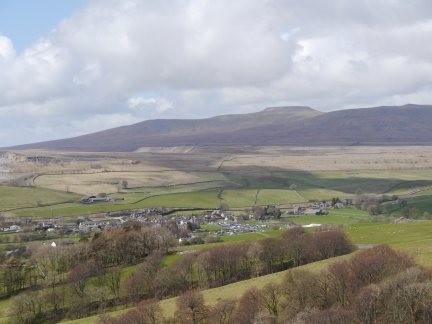 Looking over Horton towards Ingleborough