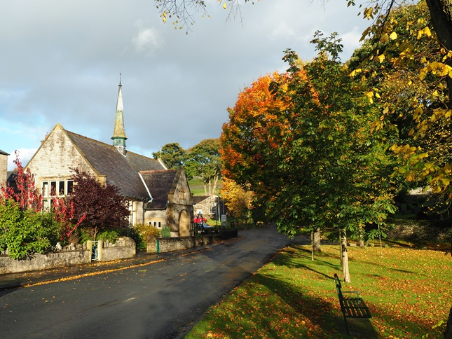 Beautiful autumn colours in Langcliffe