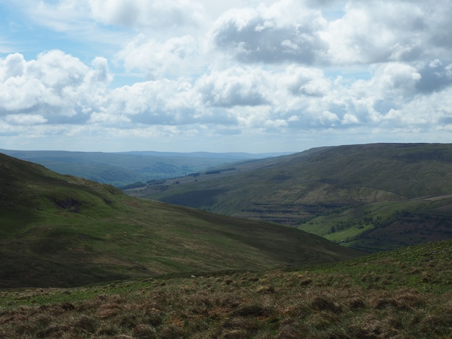 Langstrothdale and Birks Fell from Deepdale Haw