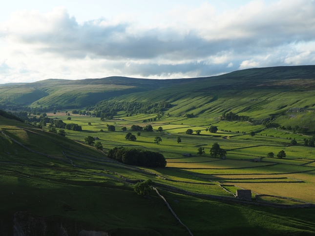 Littondale from the Monk's Road
