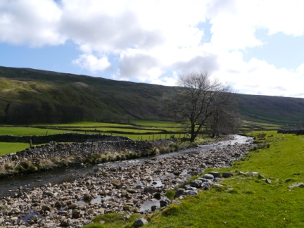 The River Skirfare and Littondale