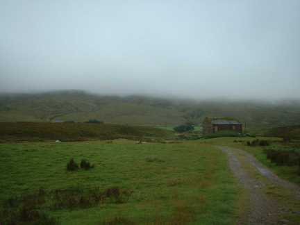 Low cloud over Swarth Fell