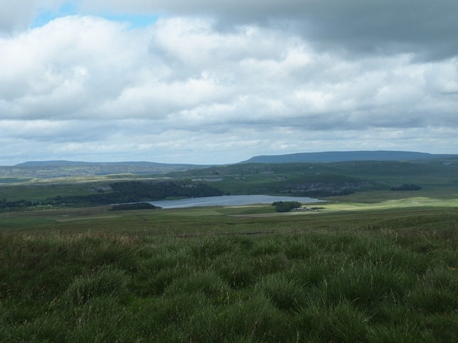 Malham Tarn from Grizedales