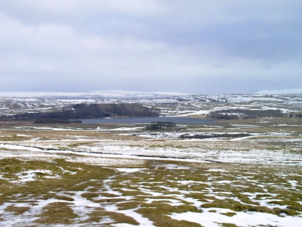 Malham Tarn as seen from Nappa Cross