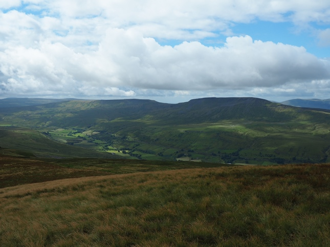 Swarth Fell, Wild Boar Fell and Mallerstang from High Seat