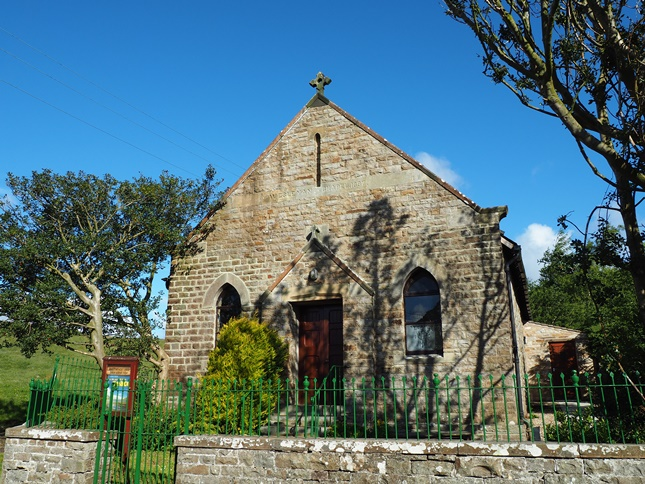 The Wesleyan Chapel in Marsett