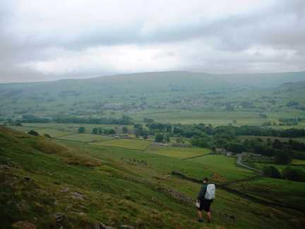 Descending into Wensleydale