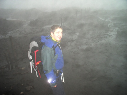 Matt in the peat of Muker Common