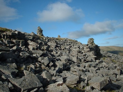 More cairns at the Megger Stones