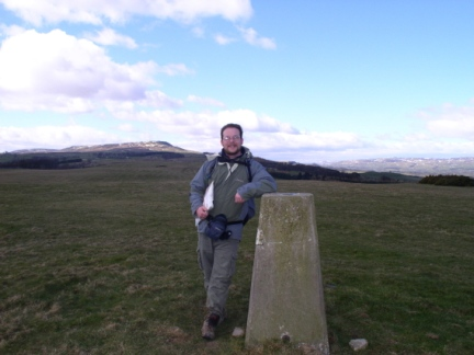 By the trig point on Middleham Low Moor