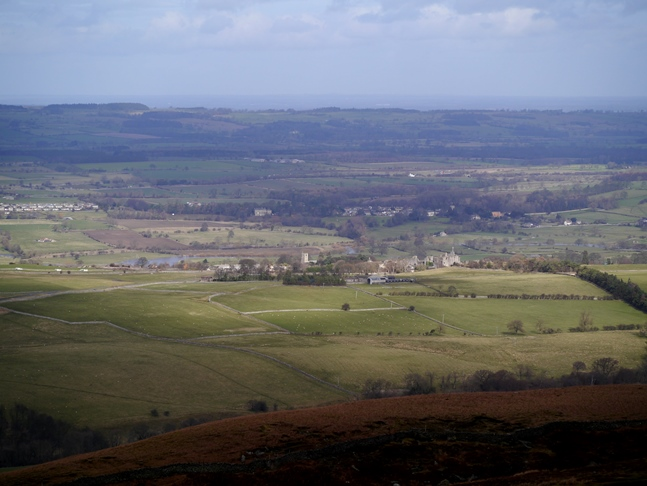 Middleham from Flamstone Pin
