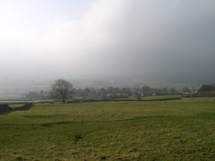 A misty morning in Wharfedale