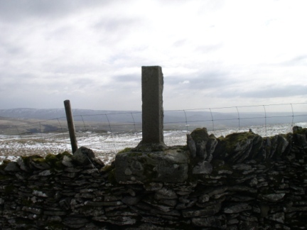 The remains of Nappa Cross