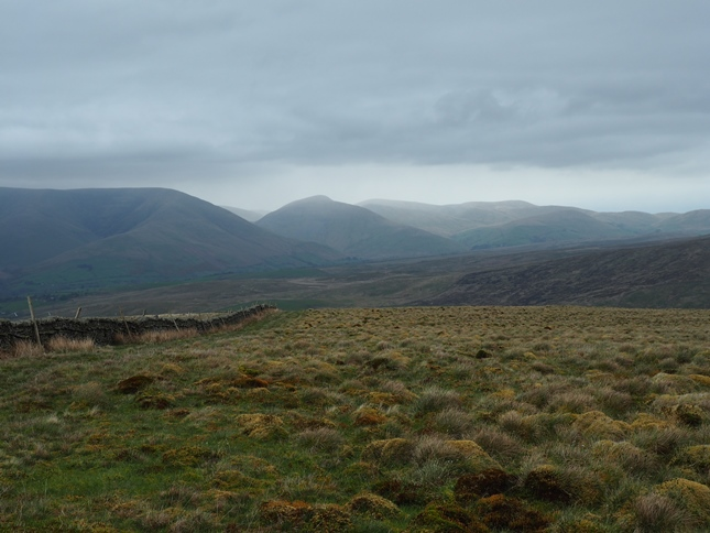 The north-eastern Howgill Fells