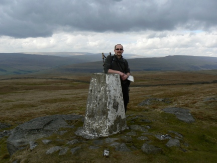 By the trig point on Capplestone Gate