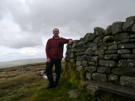 On the top of Great Shunner Fell
