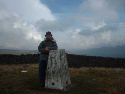 By the trig point on Horse Head