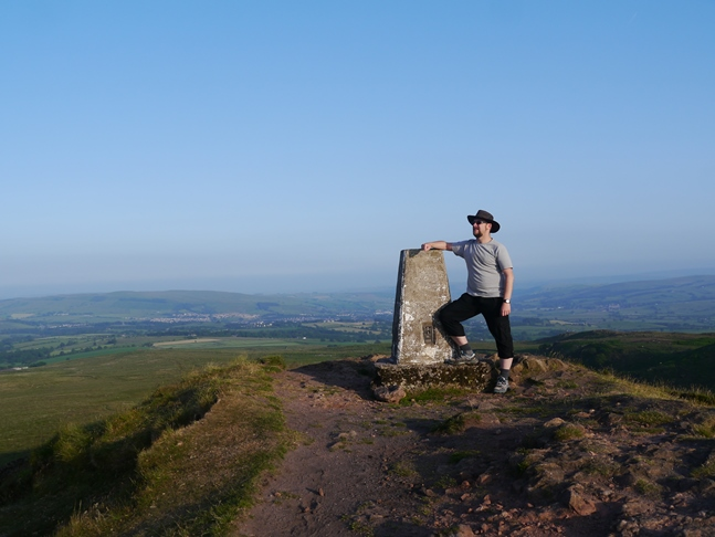 By the trig on Sharp Haw